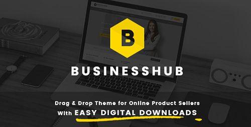 Business Hub v1.1.2  Responsive WordPress Theme For Online Business  Blogger Template