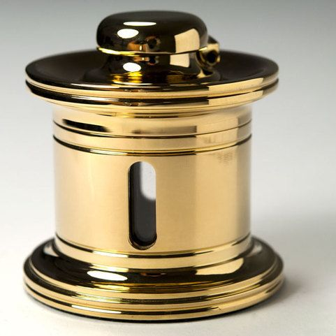El Casco Tintenfass M656 vergoldet