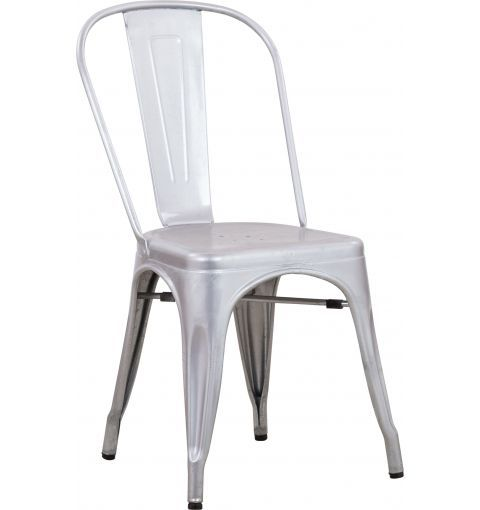 Metz Dining Chair, Hot Dip Galvanised (Anti-Rust)
