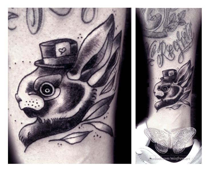 FYeahTattoos.com — The crazy march hare done by Judith, Studio 23,...