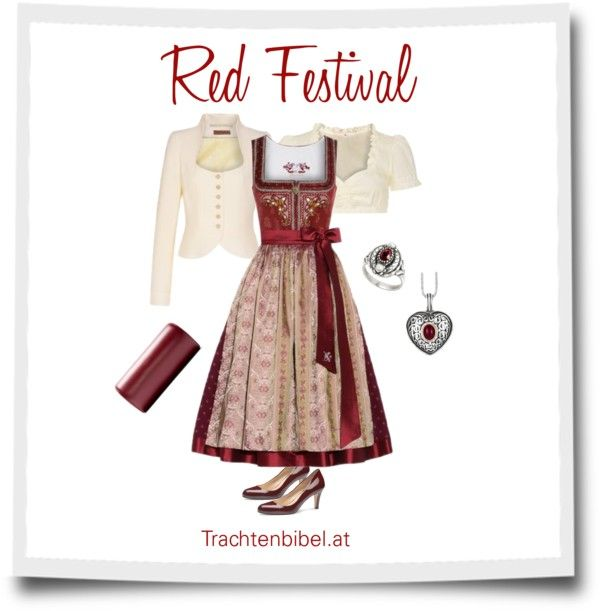 Dirndl-Style: Red Festival