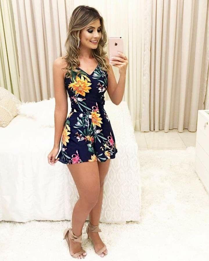 Dress Vestido Hermoso De Flores En 2019 Ropa Ropa De