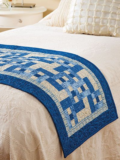 Bed runner / Blocks With Options