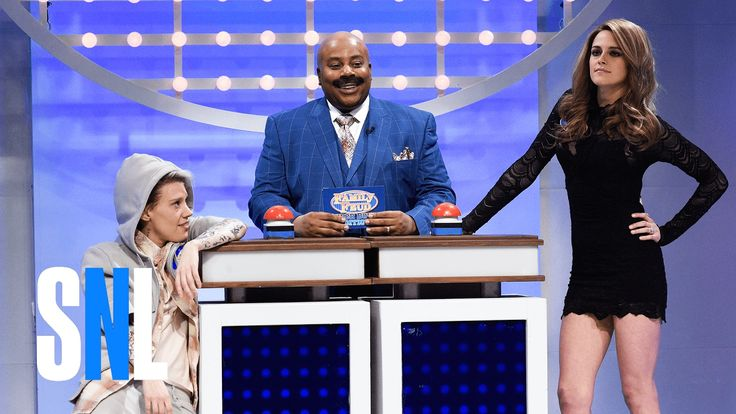 HILARIOUS!! Celebrity Family Feud: Super Bowl Edition - SNL. Justin Bieber, Giselle, etc.