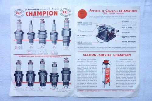 BOUGIES-CHAMPION-1936