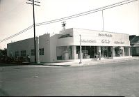 Visalia, CA Southern California Gas Company. The building has gone through considerable change over the years as you can see. Norm pointed out that in the Gas Company's early years, the company actually sold appliances, which explains the display windows.. The Gas Company also had people who demonstrated gas appliances and they held cooking classes so they had a small auditorium in the building.