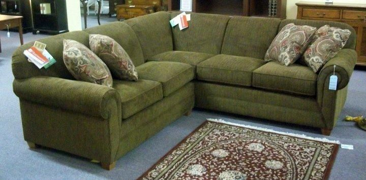 Olive Green Sectional Sofa Thesofa