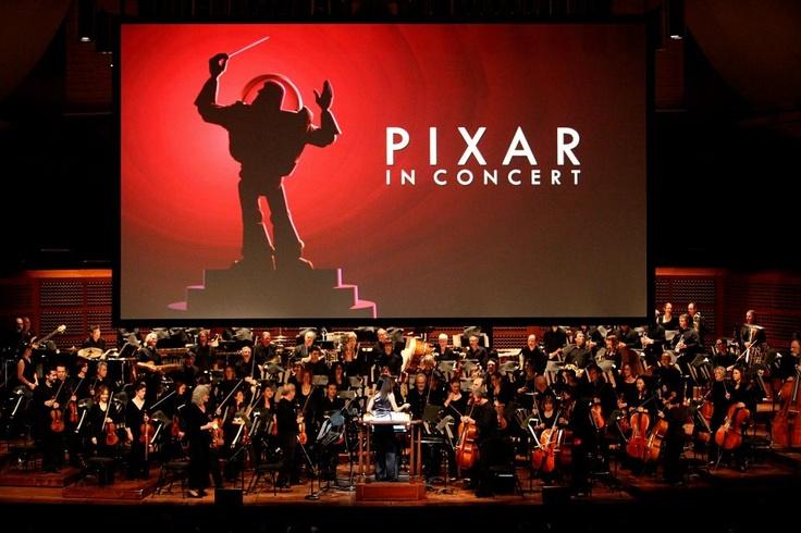 Pixar Post: Pixar In Concert - Photos with John Lasseter, Pete Docter & Andrew Stanton