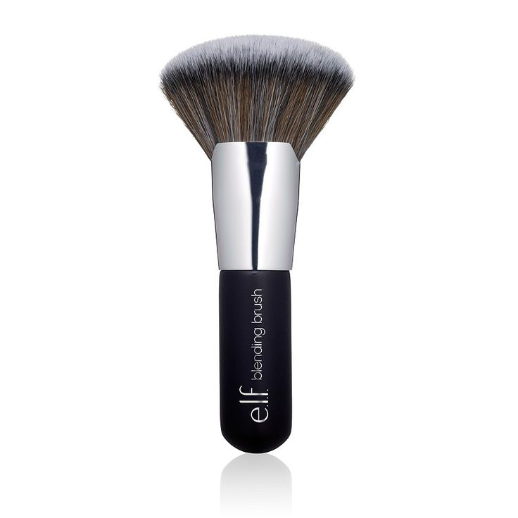 ELF Beautifully Bare Blending Brush. I love this brush, amazing price. It buffs my foundation to a sheer natural look. The brush is dense and soft. I haven't had any shedding at all. Great Brush.