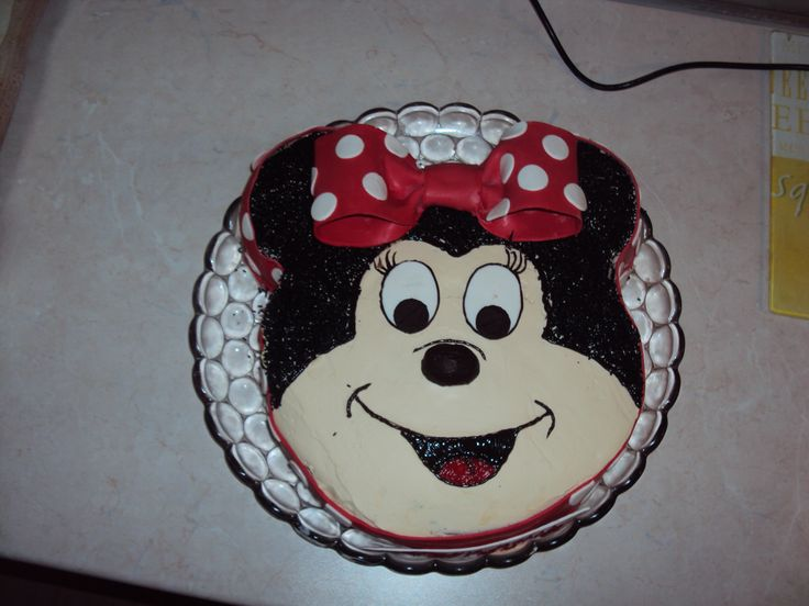 Minnie birthday cake!