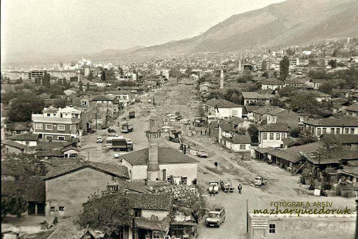 Haşim İşcan Caddesi 1970'li yıllar