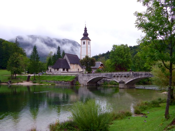 Just another stunning church in the greenest country in the world.