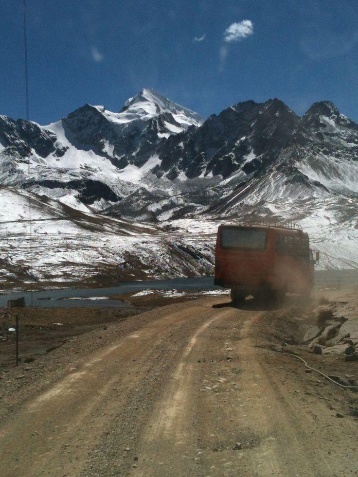 Huayna Potosi a caminho