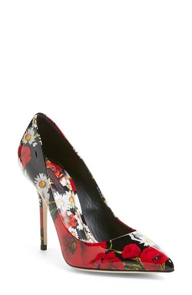 Dolce&Gabbana Floral Pump (Women) available at #Nordstrom
