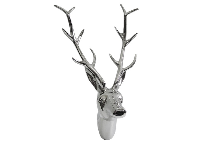 Stag Wall Decor, Silver on One Kings Lane today