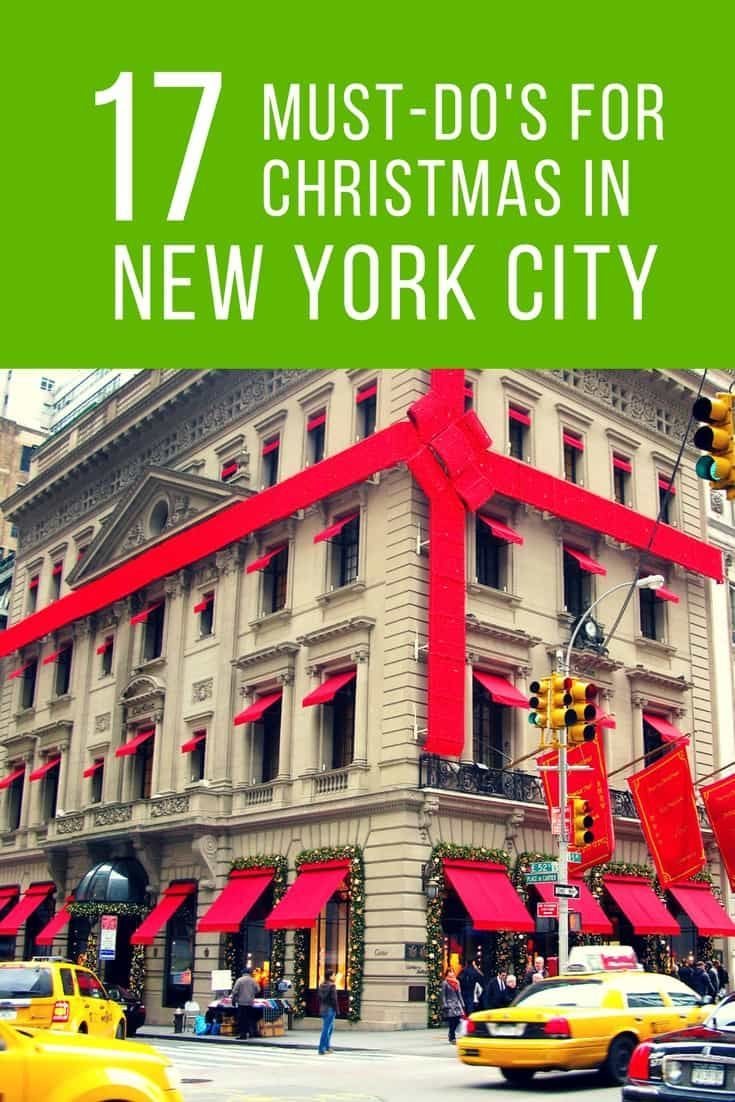 All things to do with Kids in New York City for the Christmas holiday season