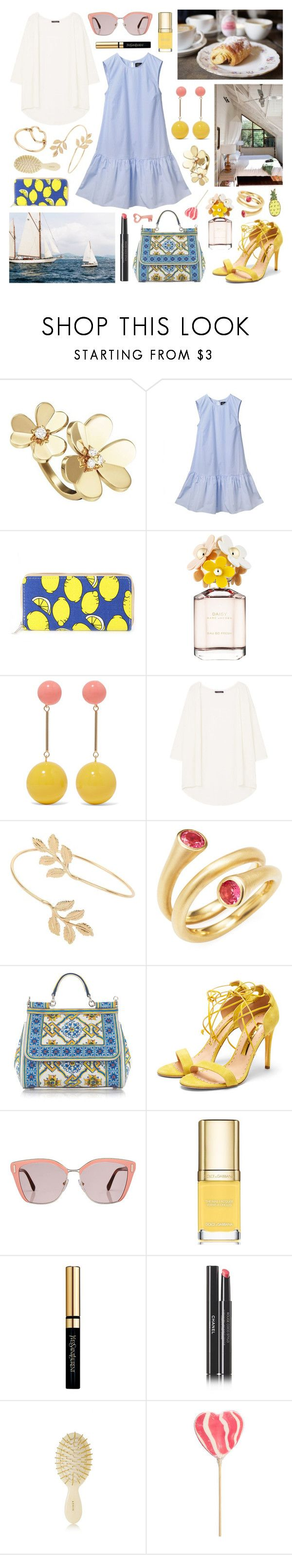 """i'll rent a beach house in miami"" by surma ❤ liked on Polyvore featuring Van Cleef & Arpels, Marc Jacobs, J.W. Anderson, MANGO, Miss Selfridge, Carelle, Dolce&Gabbana, Rupert Sanderson, Prada and Yves Saint Laurent"