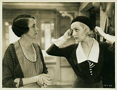 Carole Lombard and Elizabeth Patterson in No Man of Her Own (1932)