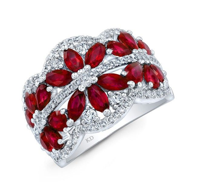 HIGH QUALITY NATURAL COLOR 18K WHITE GOLD INSPIRED MARQUISE