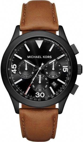 27d048df6f06 Michael Kors Gareth MK8450 Black Ion Plated Stainless Steel with Black Dial  43mm Mens Watch  mensluxurywatchesrolex