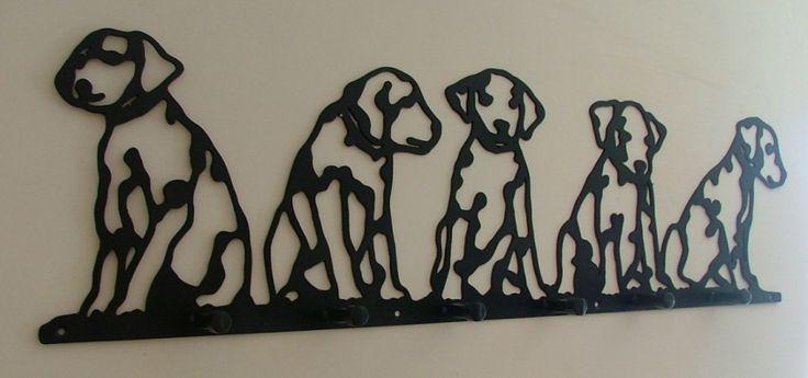 Decoration, Astounding Dalmation Dog Shaped Decorative Coat Hook Rack Innovative Design Dog Animal Room Garnish Themed Design: Decorative Coat Hooks for Stunning and Elegant Home Decoration
