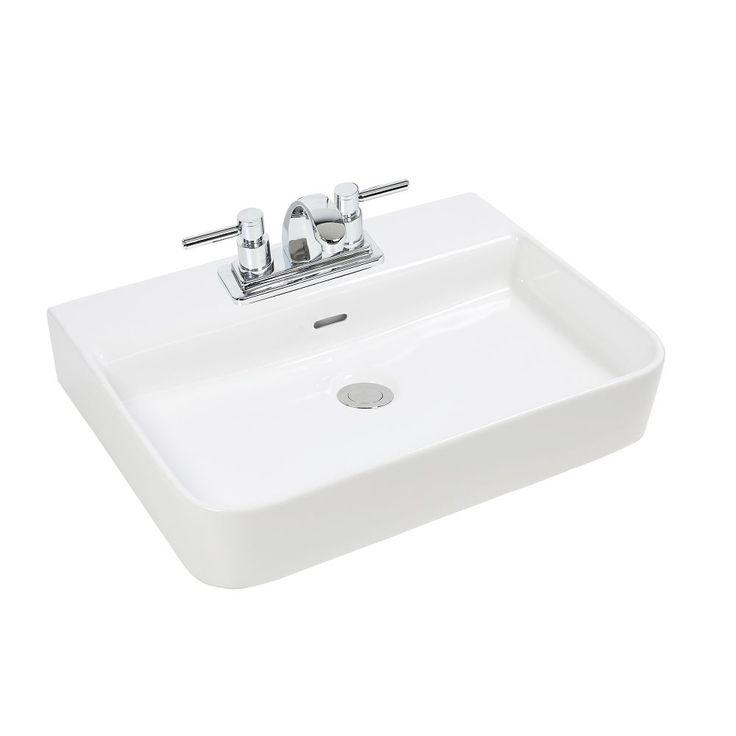 les 25 meilleures id es concernant vasque rectangulaire sur pinterest blanc vanit salle de. Black Bedroom Furniture Sets. Home Design Ideas