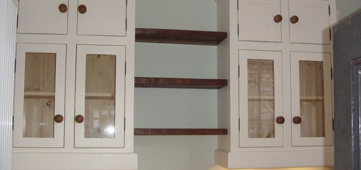 Wall Units with Shelving