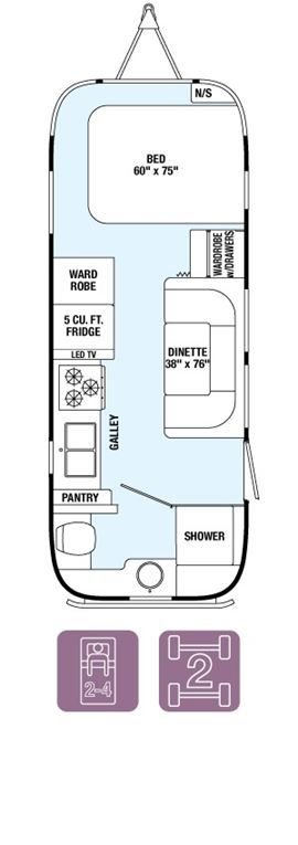 New 2015 AIRSTREAM Flying Cloud 23FB For Sale | RV Dealer in Baton Rouge | Louisiana Motorhome Dealer