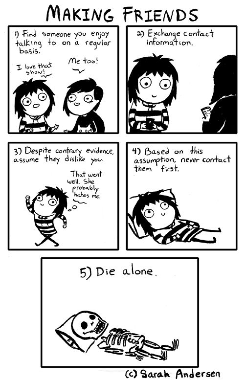 Doodle Time | Sarah Andersen | I love these