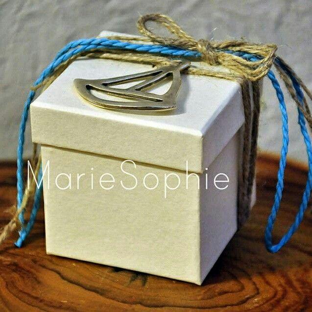 Boat box#μπομπονιέρα#www.mariesophie.gr