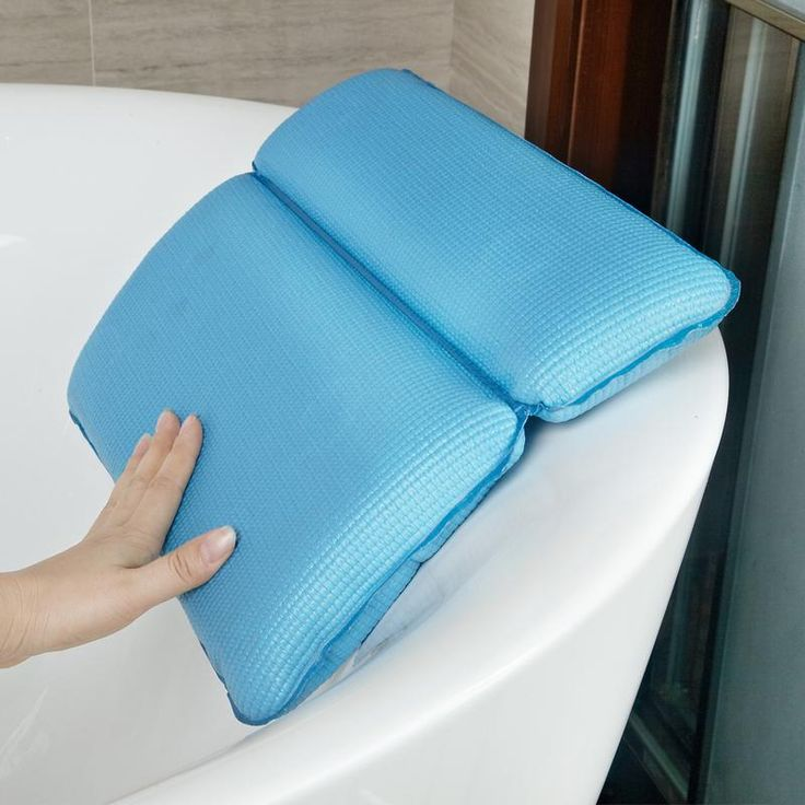 Bathtub Pillow With Suction Cups