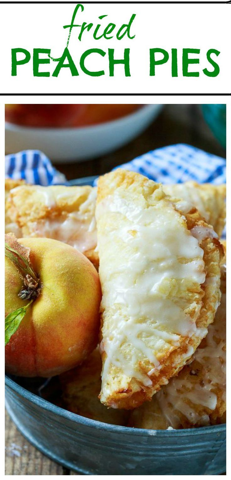 It's not a southern summer without fried peach pies! So buttery and flaky!