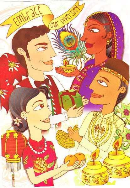 diversity in singapore  cultural diversity in singapore  GlobalLocal Relationships in
