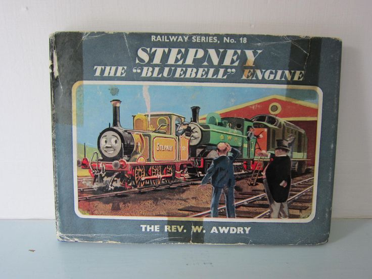2nd Edition Thomas the tank engine book, Vintage Thomas book, Children's stories, Steam engine book, Birthday gift, collectible, kids book. by thevintagemagpie01 on Etsy