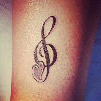 25 best ideas about treble clef tattoo on pinterest music tattoos watercolor tattoo music. Black Bedroom Furniture Sets. Home Design Ideas