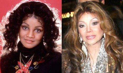 La Toya Jackson Plastic Surgery Gone Bad Before and After Photos - Celebrity Plastic Surgery