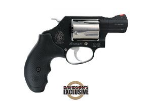 Smith & Wesson Revolver: Double Action Model 360 - Sc Airweight Davidsons…