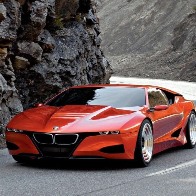 Bmw Z5: The BMW M1 Hommage Looks Like Someone Squished Down A