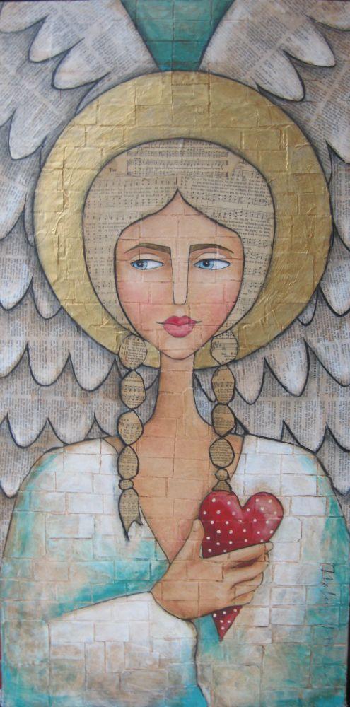 Multi-media angel