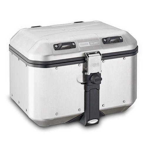 Scontato del -10% approfittane ora! Valigia posteriore GIVI Monokey Trekker Dolomiti in alluminio naturale 46 litri. Pagamenti sicuri, reso facile, garanzia 2 anni.
