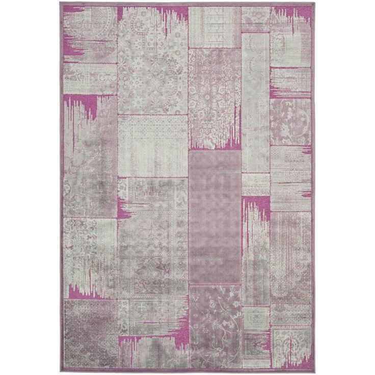 Paradise Purple Viscose Rug (4' x 5' 7) | Overstock™ Shopping - Great Deals on Safavieh 3x5 - 4x6 Rugs