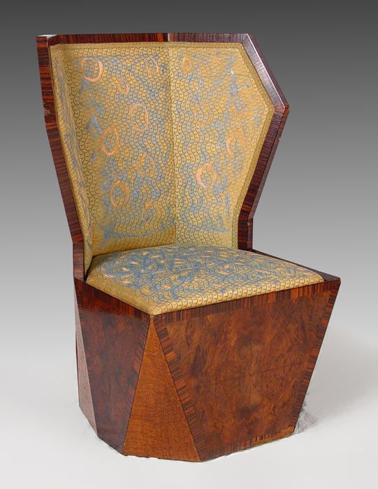art deco era furniture. Art Decó Chair By Gertrude Maud Goldsmith 1927 Deco Era Furniture