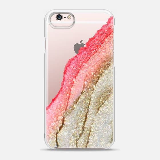 FLAWLESS CORAL by Monika Strigel iPhone 5s - Snap Case