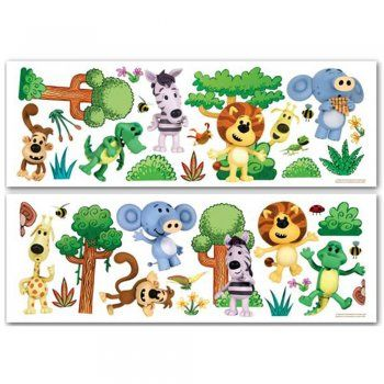 Fun4Walls Raa Raa The Noisy Lion Wall Stickers Stikarounds