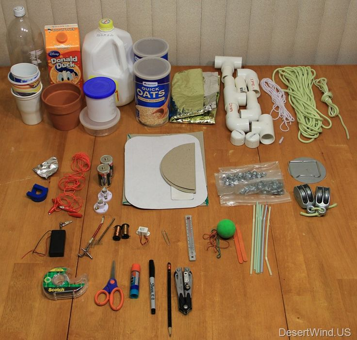DIY kids inventor kit. I would have loved this when I was younger!