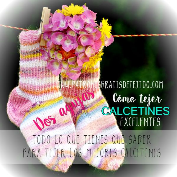 198 best Calcetines images on Pinterest | Calcetines, Dos agujas y ...