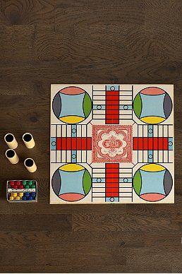 Vintage Parcheesi Board Game