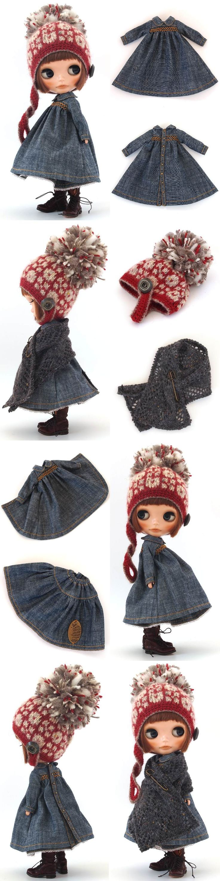 ** Blythe outfit ** Lucalily 351**の画像:mahounote.