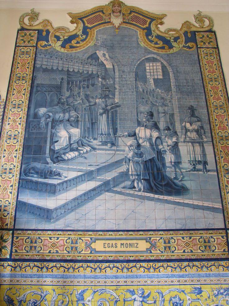 Jorge Colaço | Coimbra | Palácio da Justiça de / Palace of Justice of Coimbra | 1933-1935 [© Francisco Queiroz/ Instituto de Promoció Ceramica de Castellón] #Azulejo #Coimbra #JorgeColaço