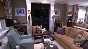 Living Room Design Tips From Candice Olson | Living Room and Dining Room Decorating Ideas and Design | HGTV